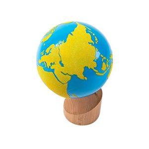 Land and Water Geography Globe